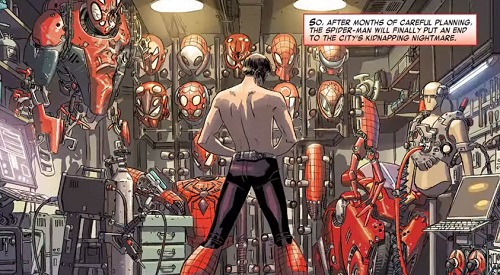 spiderman comics online