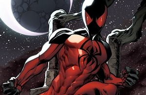 marvel super hero Scarlet Spider
