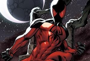 marvel super hero Scarlet Spider