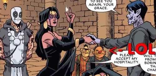 new comics deadpool #38 Axis tie in
