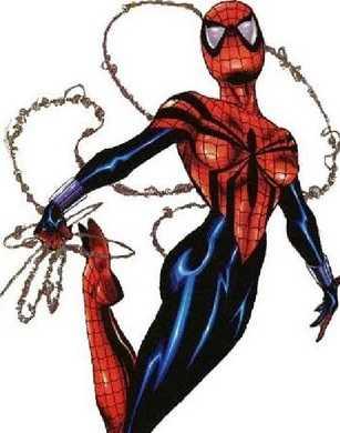 marvel super hero spider girl mayday parker