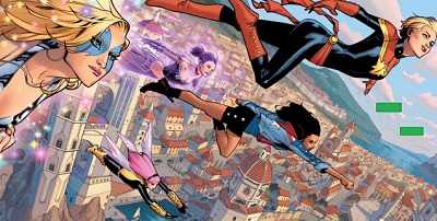 a-force comic book review