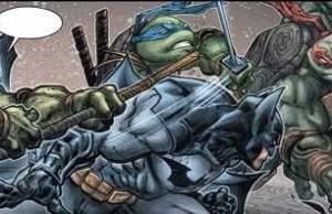 Batman Teenage Mutant Ninja Turtles #2 Review/Recap. Showdown!