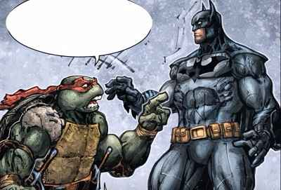 Batman Teenage Mutant Ninja Turtles #4 Review/Recap. Raphael's Rage