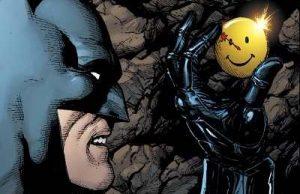 batman finds the comedian's pin