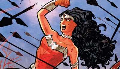wonder woman comic island