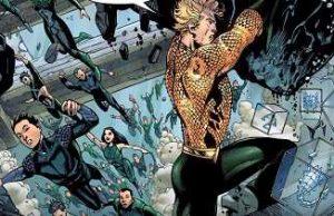 Justice League #1. Extinction Machine Part 1. Aquaman Arthur curry
