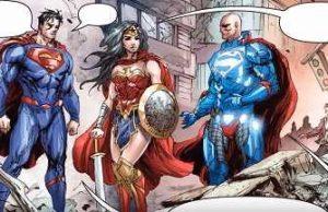 superman wonder woman lex luthor
