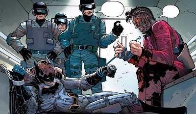 All-Star Batman #2 batman two face