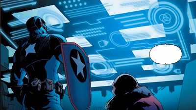 Captain America: Steve Rogers #4 – Civil War II Tie-In