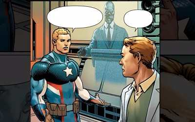 Captain America: Steve Rogers #7 – Red Skull Rising.