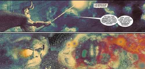 Odin  vs cosmic storm
