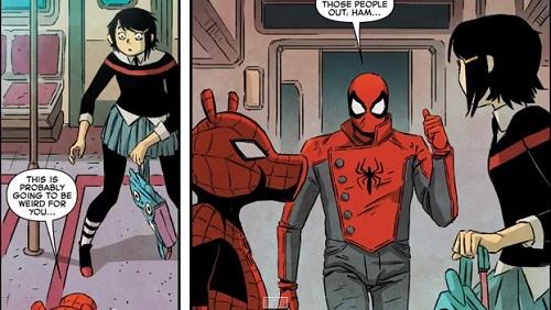 amazing spiderman comics
