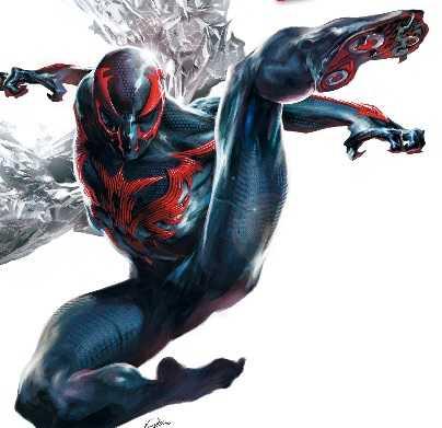 marvel super hero spiderman 2099