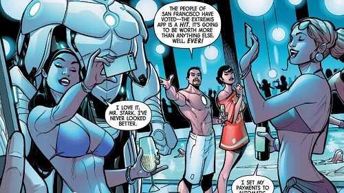 new comics axis #6