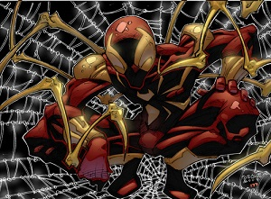 marvel super hero Iron spider