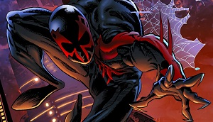 marvel super hero spiderman 2099