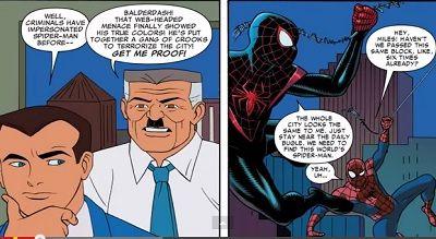 Marvel Comic book Spider-Verse #2