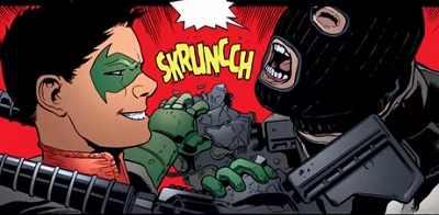 Batman and robin comics 38