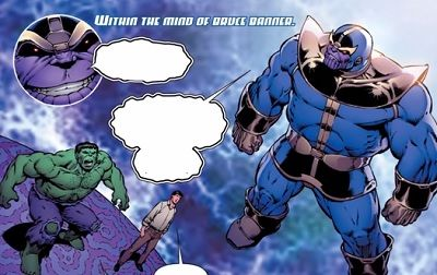 thanos vs the hulk comic review
