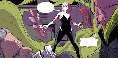 Spider-gwen #3 review recap