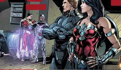 dc comics justice league #41 review