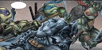 Batman Teenage Mutant Ninja Turtles #2 Review/Recap. Showdown!
