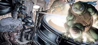 Batman Teenage Mutant Ninja Turtles TMNT #5 Review/Recap. Villains Gone Wild.