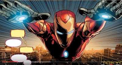 Invincible Iron Man #8 Recap/Review – Heeeeeere's Spidey!
