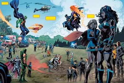 comic island dc rebirth