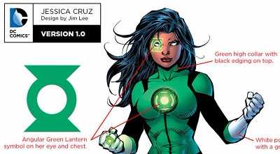 history origins of jessica cruz green lantern power ring