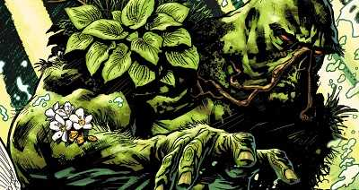 comic island new 52 swamp thing