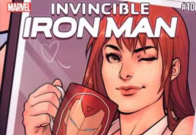 Invincible Iron Man #10 Recap/Review: mary jane watson