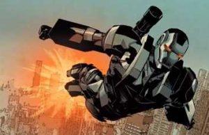 invincible iron man war machine