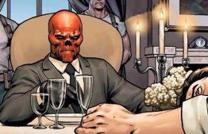 captain america steve rogers red skull