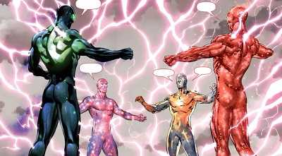 Justice League #3. The Awakening.