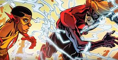 The Flash #9 – Kid Flash of Two Worlds!