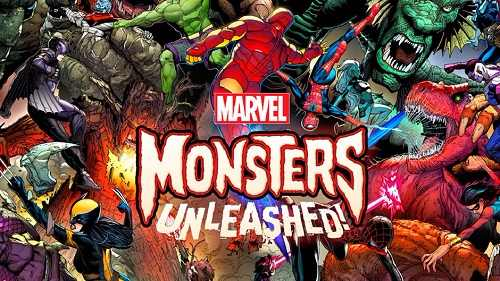 comic island monsters unleashed marvel