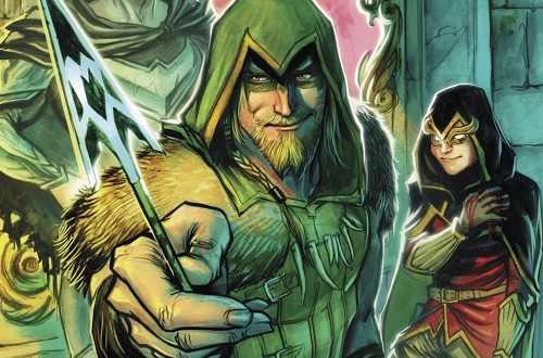 green arrow dc metal comic island